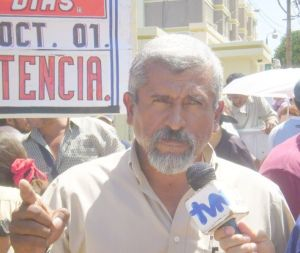 Juan Barahona, líder da Resistência Hondurenha
